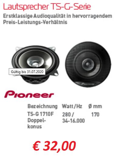 Lautsprecher für Auto